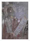 Eglise des Saints Archanges  arc triomphal de l'abside : prophète Isaïe (registre supérieur)