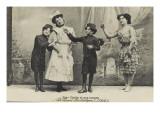 Cirque Ancillotti-Plège 4 Sœurs Italia (pot-pourri acrobatique) (1912)