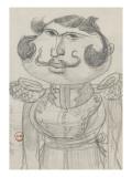 """Caricature : """"un chambellan de Cuba"""""""
