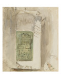 Intérieur au Maroc : la porte verte ; 1832