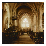 Int&#233;rieur d&#39;&#233;glise