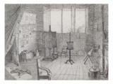 L'Atelier de Redon  81 boulevard du Montparnasse à Paris (novembre 1873-1877)
