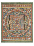 Mandala de Vairocana  sous son aspect Sarvavid