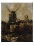 Le Moulin de la Galette  à Montmatre