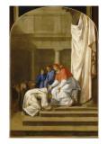Vie de saint Bruno : arrivée de saint Bruno à Rome
