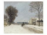 En hiver  effet de neige (1876)