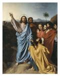 Jésus remettant à saint Pierre les clés du Paradis