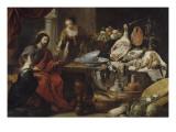 Jésus chez Marthe et Marie