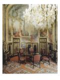 Vue intérieure Appartements de Napoléon III : Petite Salle à manger
