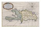 Carte de l'isle de Saint Domingue
