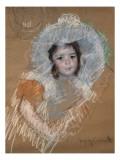 Margot Lux avec un large chapeau
