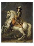 Louis XIV à cheval  roi de France et de Navarre (1638-1715)