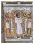Cuve intérieure du sarcophage d'Amenemipet (prêtre du culte d'Amenophis Ier)