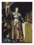 Jeanne d'Arc au sacre du roi Charles VII dans la cathédrale de Reims