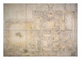 Plan du palais de Yuan Ming Yuan
