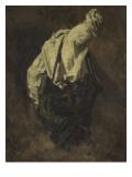 Homme vu de dos : personnage du serrurier