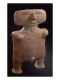 Male Anthropomorphic Figure Used in Rituals of Bells