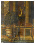 Janvier  signe du Verseau : représentation d'un opéra de Psyché devant la colonnade du Louvre