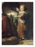 Marie-Antoinette de Lorraine-Hasbourg  reine de France et ses enfants