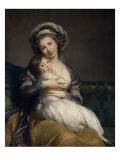 Madame Vigée-Le Brun et sa fille  Jeanne Marie-Louise (1780-1819)