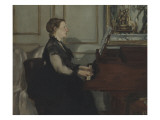 Madame Manet au piano