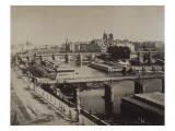 Panorama de Paris  vers le Pont-Neuf