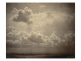 Marine  étude de nuages