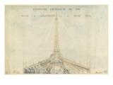 Palais de l'Electricité : projet d'habillage de Tour Eiffel pour l'Exposition Universelde 1900
