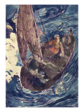 Album Noa-Noa : Homme dans une barque