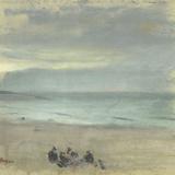 Marine affiche par Edgar Degas