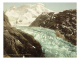 Mountain Landscape  Glacier and the Gorner Breithorn