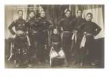 Nanking Republic Chinesen Troupe Dir Liu Schan Fu Mgr Paul Richter