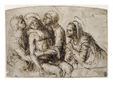 Piet&#224; : Lamentation sur le Christ mort