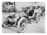 Album photographique : Automobile de course Renault 1903 type Paris--Madrid