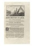 Page 1 : avec vignette représentant des architectures de l'Antiquité