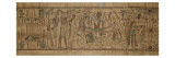 Papyrus mythologique de Neskapashouty  scribe comptable des grains du grenier d&#39;Amon