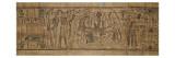 Papyrus mythologique de Neskapashouty  scribe comptable des grains du grenier d'Amon