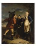 Pascal Paoli à la bataille de Ponte Novu (Ponte-Novo)  1769