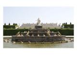 Vue du parc : parterre de Latone