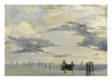 Sur l'Adriatique  la lagune près de Venise