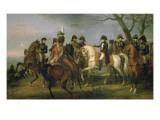 Napoléon Ier donnant l'ordre avant la bataille d'Austerlitz  2 décembre 1805