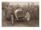 Album photographique : coupe Gordon-Bennett 1903 Irlande Jenatzy sur Mercédes
