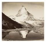 Paysage de montagne  le Mont Cervin