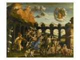 Minerva Expelling the Vices of the Garden of Virtue