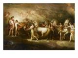 Phaëton sollicitant d'Apollon la conduite du Soleil