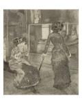 Mary Cassatt au Louvre  Musée des Antiques