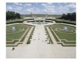 Vue du parc : vue perspective du parterre de Latone  prise de l'allée royale