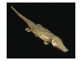 Pendentif en forme de crocodile