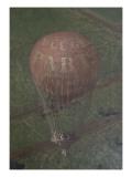 Vue générale de Paris  prise de l'Observatoire  en ballon