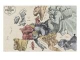 Nouvelle carte de l'Europe dressée pour 1870